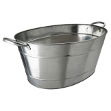 Beaumont Galvanised Steel Wine And Champagne Tub