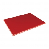 Hygiplas Extra Thick Low Density Red Chopping Board Large