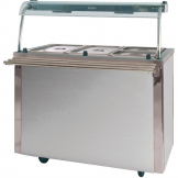Moffat Versicarte Plus Hot Food Service Counter With Bain Marie VCBM3