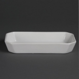 Olympia Whiteware Oblong Hors d'Oeuvre Dishes 235x 122mm (Pack of 6)