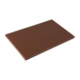 Hygiplas Gastronorm 1/1 Brown Chopping Board