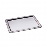 APS Stainless Steel Rectangular Service Tray 420mm