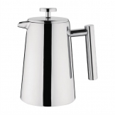 Olympia Insulated Art Deco Stainless Steel Cafetiere 6 Cup