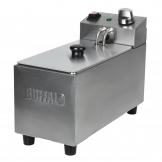Buffalo Single Tank Single Basket 3Ltr Countertop Fryer 2kW