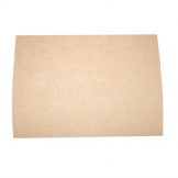 Vegware Compostable Unbleached Greaseproof Paper 380 x 275mm (Pack of 500)