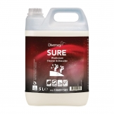 Diversey SURE Washroom Cleaner and Descaler Concentrate 5Ltr (2 Pack) (Pack of 2)
