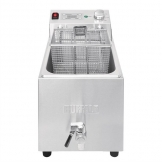 Buffalo Single Tank Single Basket 8Ltr Countertop Fryer with Timer 6kW