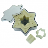De Buyer Plain Star Pastry Cutters (Pack of 7)