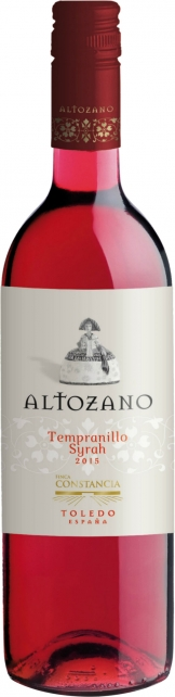 Altozano - Tempranillo Shiraz Rosado 2017 (75cl Bottle)