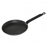 Vogue Black Iron Crepe Pan 180mm