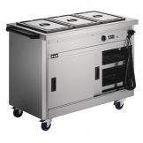 Lincat Panther 670 Series Hot Cupboard with Bain Marie P6B3