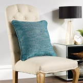 Polaris Throw Cushion Teal 430 x 430mm