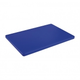 Hygiplas Extra Thick Low Density Blue Chopping Board Standard
