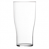 Polystyrene Beer Glasses 285ml CE Marked. (Pack of 48)