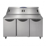 Williams Onyx 3 Door Refrigerated Prep Counter 616Ltr CPC3-SS
