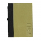 Securit Contemporary Menu Cover Green A4