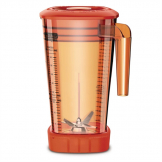 Waring Orange 2Ltr Jar for use with Waring Xtreme Hi-Power Blender