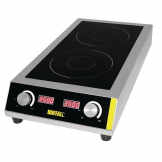 Buffalo Heavy Duty Double Induction Hob 7kW