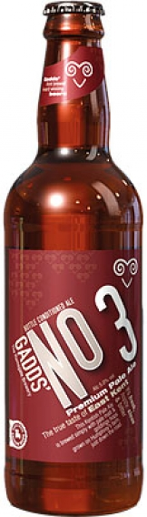 Gadds - No 3 Pale Ale (12x 500ml Bottles)