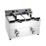 Buffalo Twin Tank Induction Fryer 2x3kW