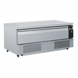 Polar U-Series Single Drawer Counter Fridge Freezer 3xGN