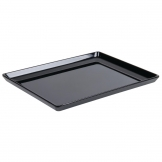APS Float Melamine Tray Black GN 1/1