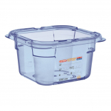 Aravan ABS Food Storage Container Blue GN 1/6 100mm