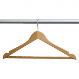 Bolero Wooden Hanger (Pack of 10)