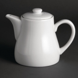 Olympia Whiteware Teapots 795ml (Pack of 4)
