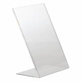 Slanted Acrylic Menu Holder A4