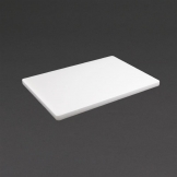 Hygiplas Extra Thick Low Density White Chopping Board Standard