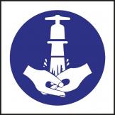 Wash Hands Symbol Sign