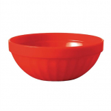 Kristallon Polycarbonate Bowls Red 102mm (Pack of 12)