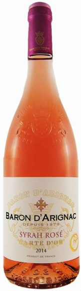 Baron d'Arignac - Syrah Rose (75cl Bottle)