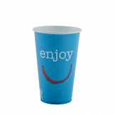 Huhtamaki Enjoy Paper Cold Cups 340ml / 12oz (Pack of 2000)