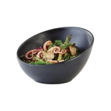 APS Zen Melamine Round Sloped Bowl Black 300ml