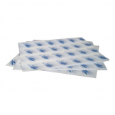 Burger Wrapping Paper Sheets Blue 245 x 300mm (Pack of 1000)