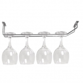 Olympia Wine Glass Rack Chrome 406mm