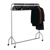 Bolero Metal Garment Rail with Hangers