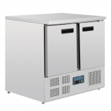 Polar G-Series Double Door Counter Fridge 240Ltr