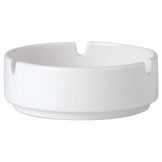 Steelite Simplicity White Stacking Ashtrays 102.5mm (Pack of 12)