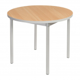 Gopak Enviro Indoor Beech Effect Round Dining Table 900mm