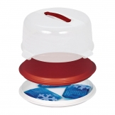 Curver Round Cake Box with Cool Packs 350mm
