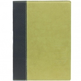 Securit Contemporary Menu Cover Green A5