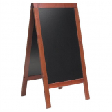 Securit Duplo Pavement Board 1350 x 700mm Mahogany