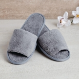 Comfort Vienna Open Toe Slippers Grey