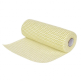 Jantex Non Woven Cloths Yellow (Roll of 100) (Pack of 100)