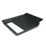 DeBuyer Non-Stick Square Tart Mould With Removable Base 23 cm