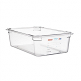 Araven Polycarbonate 1/1 Gastronorm Food Container 20Ltr
