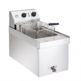 Parry Single Tank Single Basket Countertop Electric Fryer NPSF6
